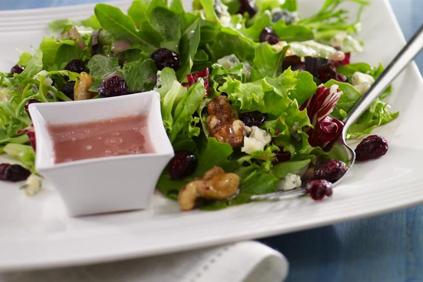 Salade californienne aux Cranberries